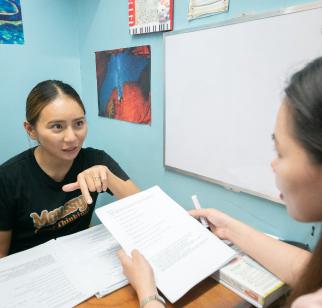 入学前に決めるのはマンツーマンクラスとグループクラスの授業数のみです