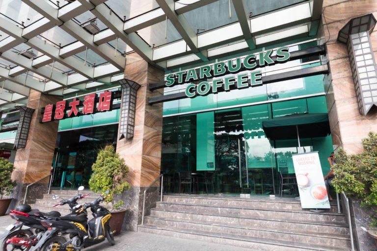 フィリピンのスターバックスコーヒー
