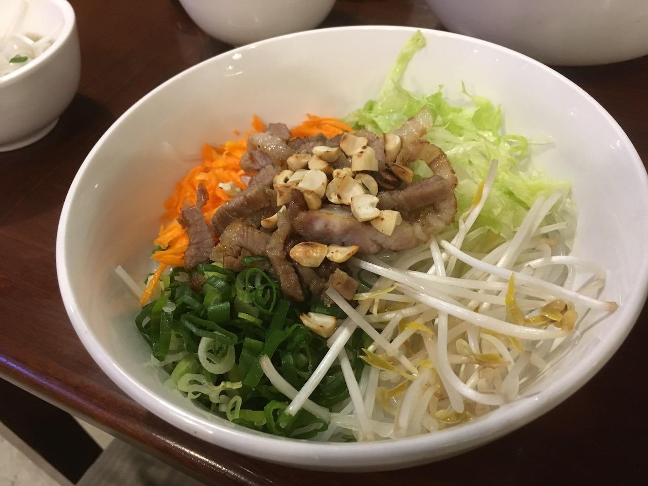 Rice Noodle Pork BBQ