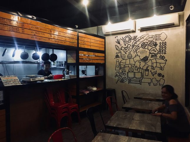 Bleachers Barbecue Slow and Lowの店内