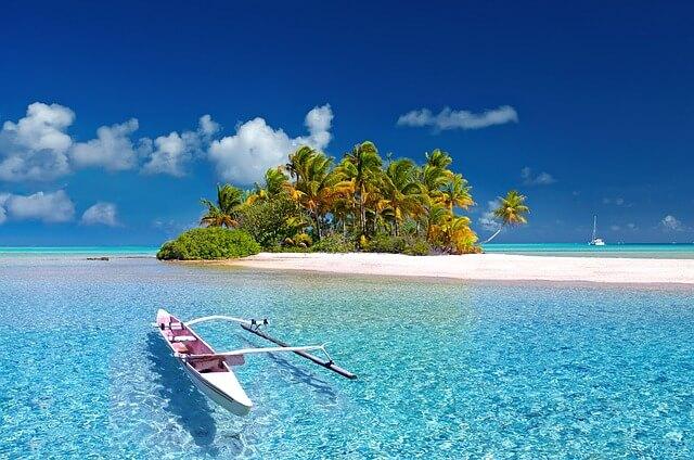 フィリピンの海