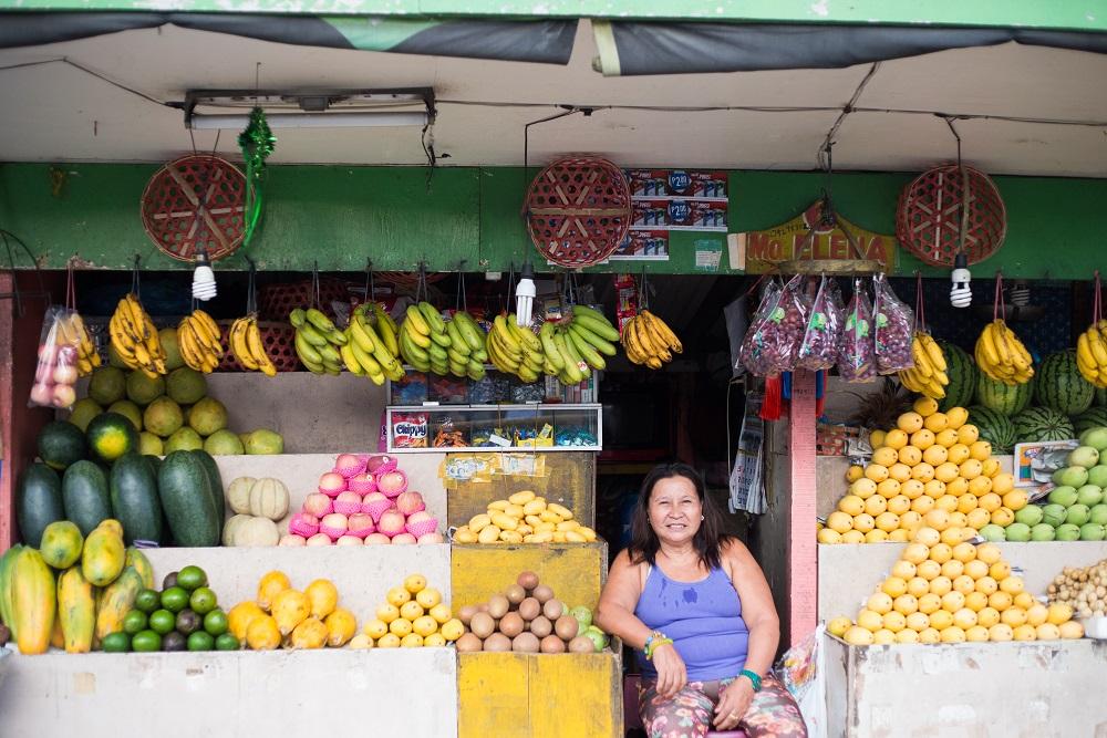セブ島の果物