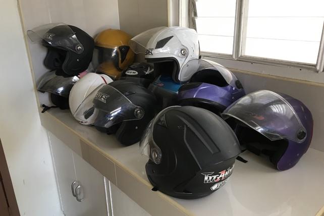 セブ島のバイク屋