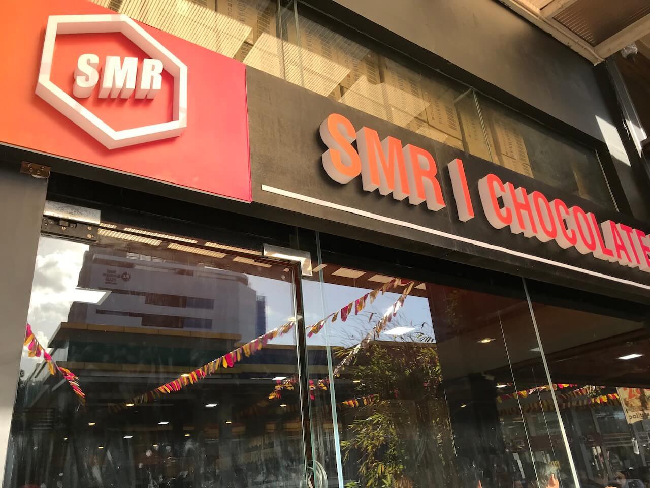 SMR Chocolatesの店外