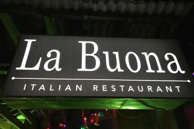 La Buona Italian Restaurant