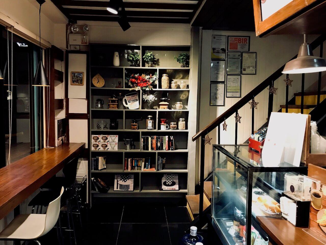 cafe Jasminの店内
