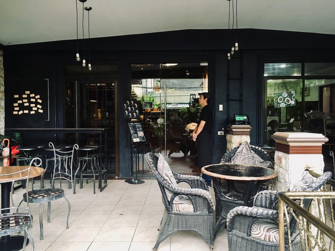 Balai by Cafe+の店外