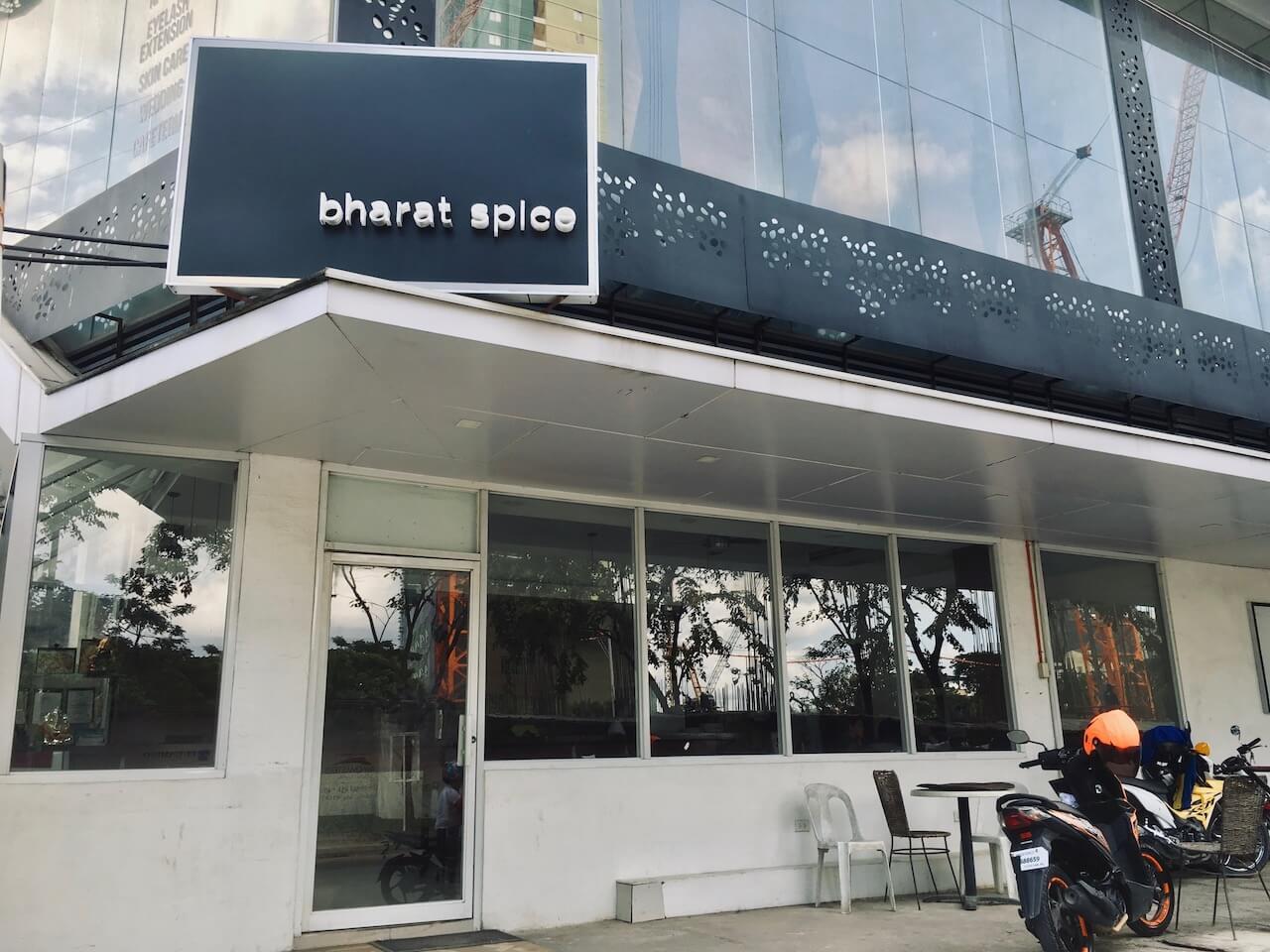Bharat Spiceの店外